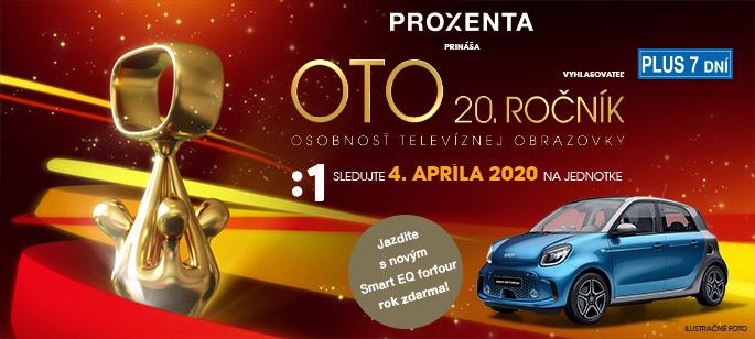 Anketa OTO 20.ročník - Osobnosť Televíznej Obrazovky