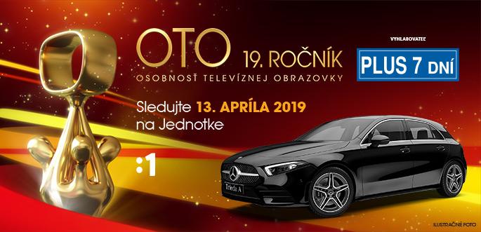 Anketa OTO 19.ročník - Osobnosť Televíznej Obrazovky
